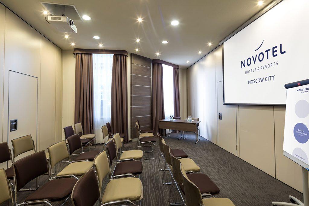 Novotel Moscow City - зал Лондон